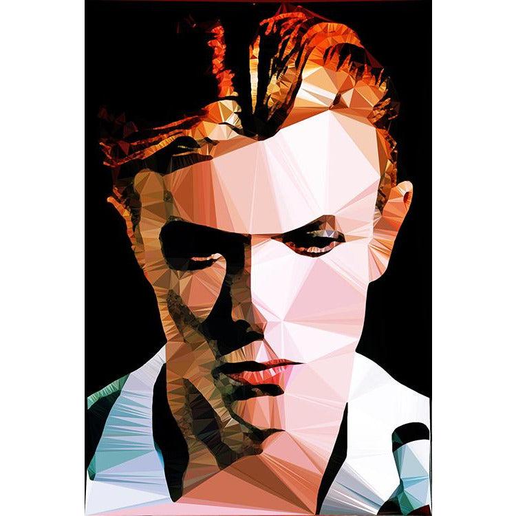 Limited Edition Bowie #25/500 by Baiba Auria - signed art print - Egoiste Gallery