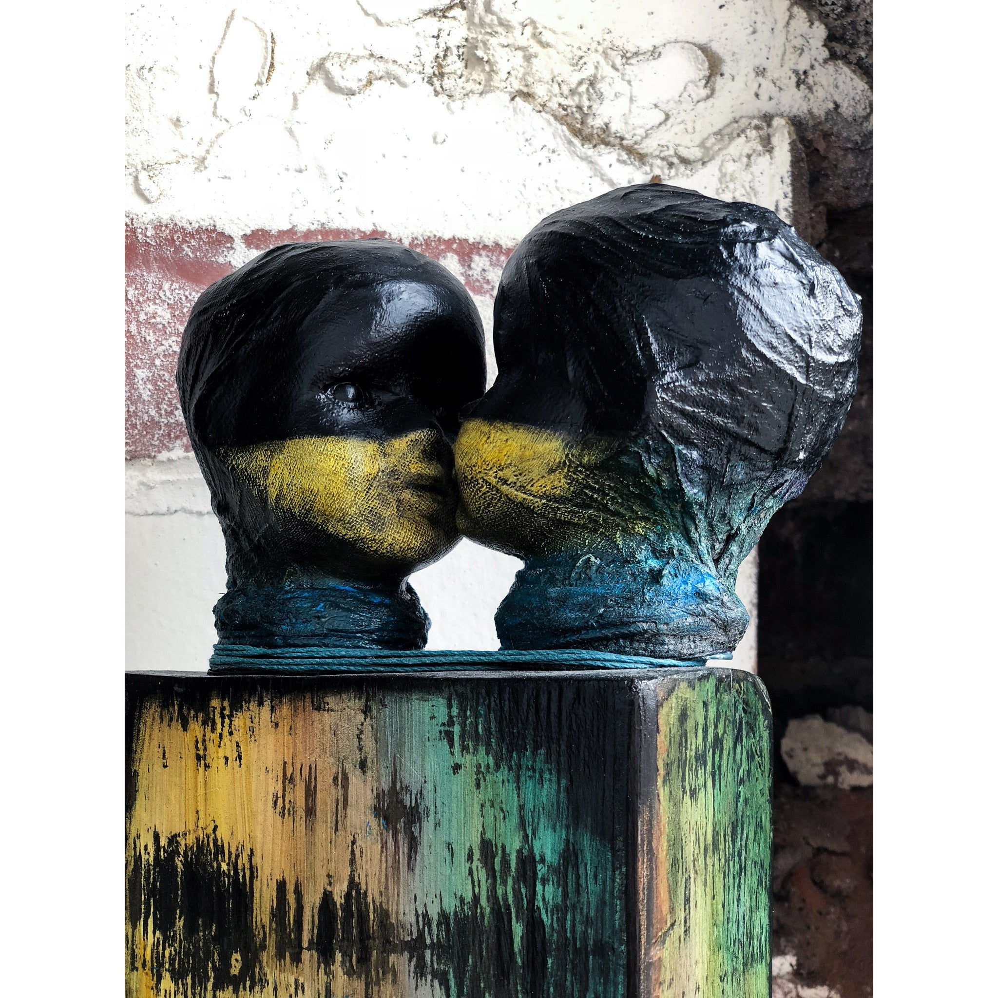 One Love: Original scultpure by Sonia Dalga - Egoiste Gallery