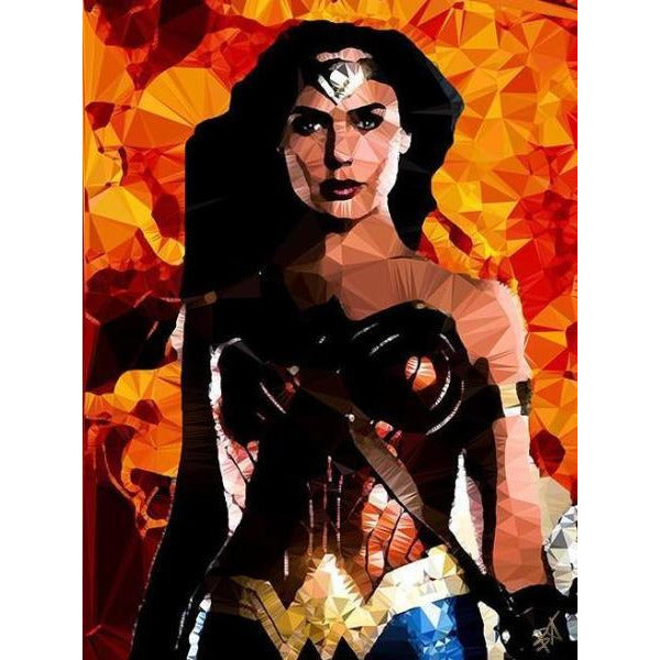 Wonder Woman #1 by Baiba Auria - signed art print - Egoiste Gallery