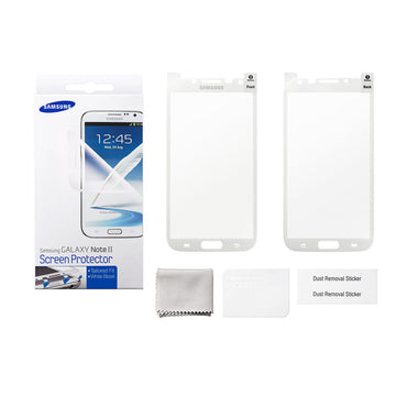 Official Samsung Galaxy Note II Screen Protector ETC-G1J9WEGSTD High Quality - Visibee