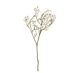 Faux Dogwood Blossom Branch | 40""