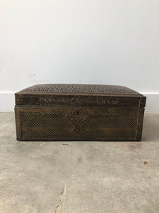 Brass Perforated Box