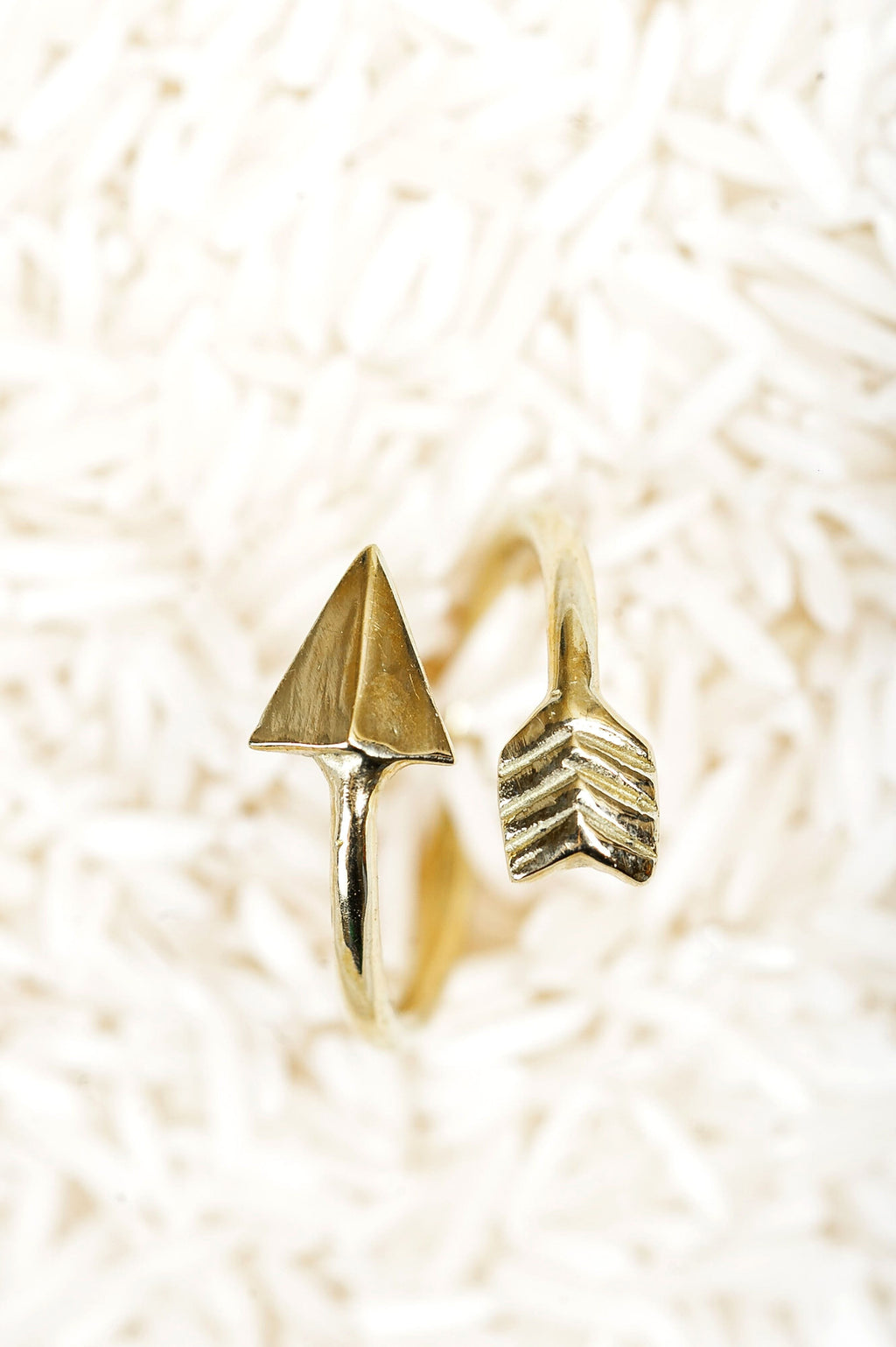 Arrow Ring Gold - Olive Gypsy Boutique