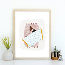 Motivational Cat Illustration Print