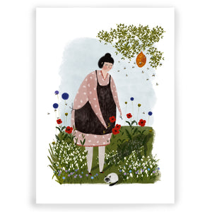 Happy Place Giclée Art Print