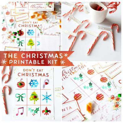 Christmas Activity Printable Kit
