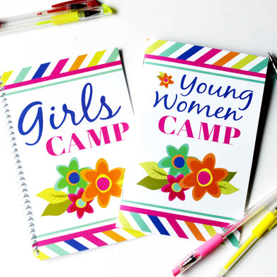 LDS Girls Camp Printable Journal Kit | Young Women Journal