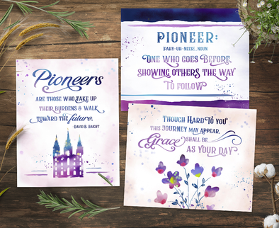 Pioneer Day Printable Kit