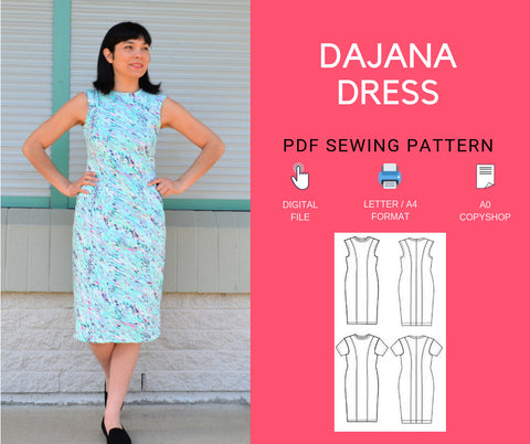 Dajana Dress PDF sewing pattern