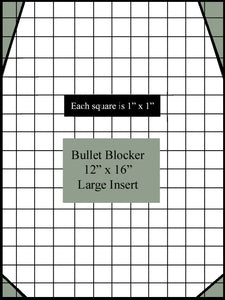 Bulletproof Small Backpack Armor Insert