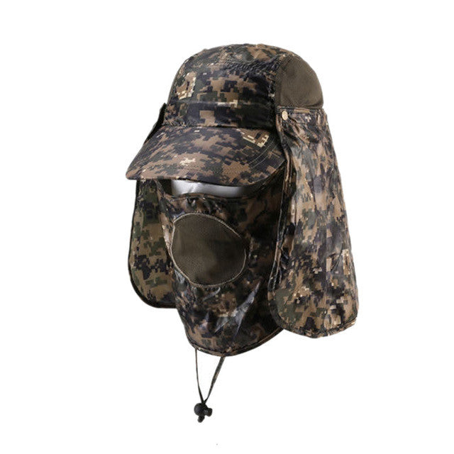 Camouflage Jungle Hats for Camping and Hiking