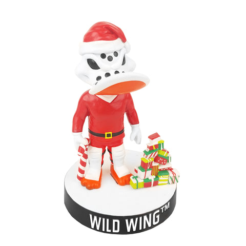 Anaheim Ducks Wild Wing Christmas Bobblehead