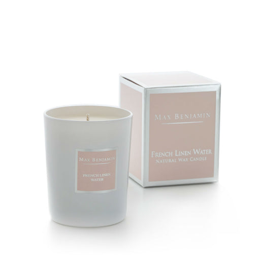 MAX BENJAMIN CLASSIC CANDLE 190G - FRENCH LINEN WATER