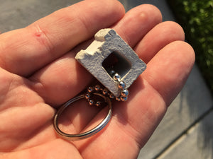 ORDER Cindy the Cinder Block Keychain