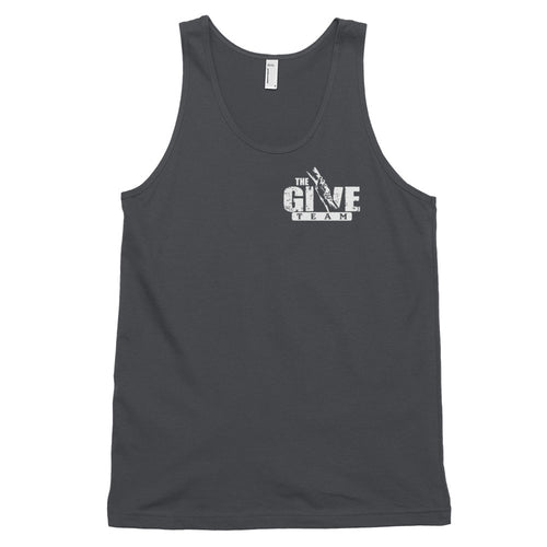 BE STRONG! GIVE MORE! Classic tank top (unisex) (a/k/a