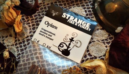 Opium Stick Incense by Strange Fire & Fumery