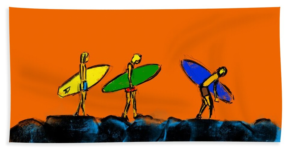 70s Groms - Beach Towel