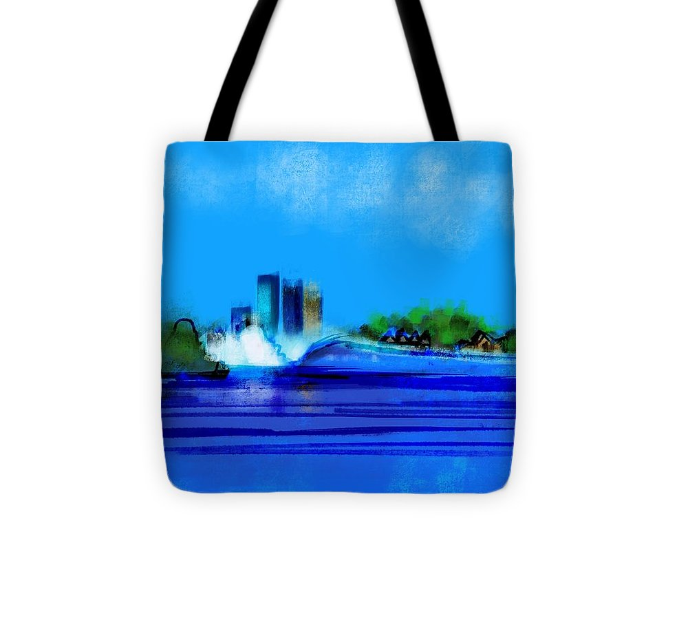Isles Left - Tote Bag