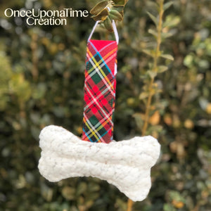 Dog Bone Keepsake Ornament