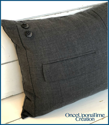 Suit Coat/Jacket Memory Pillow