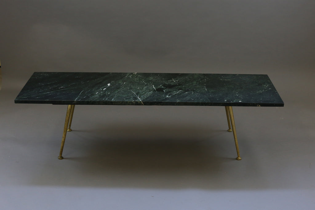 Bronze Leg Mid-Century Coffee Table