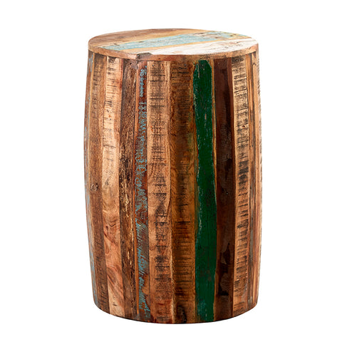 Coastal Drum Stool - directhomeliving