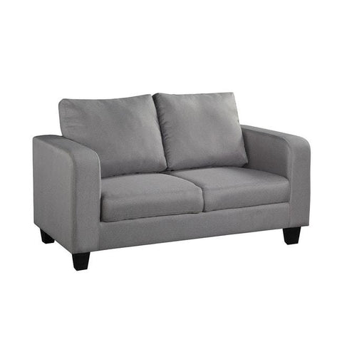 Grey Fabric Sofa in a Box - directhomeliving
