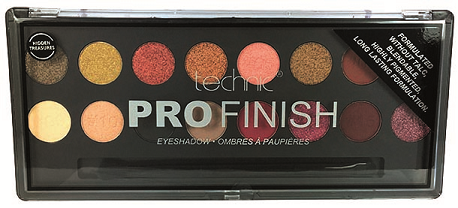 Technic Pro Finish Eyeshadow Palette - Hidden Treasures