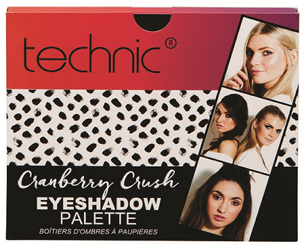 Technic Gift Cranberry Crush Eyeshadow Palette