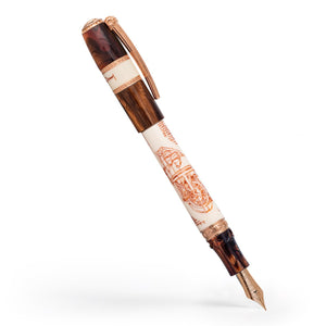 Visconti Leonardo da Vinci Machina Fountain Pen - Rose Gold (Pre-Order)