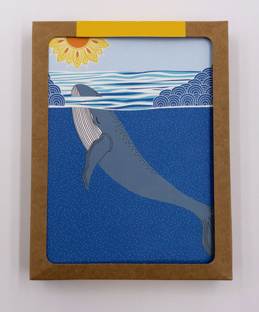 Whale Greeting Cards (Pack)