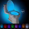 Toilet Seat  Human Motion Sensor LED