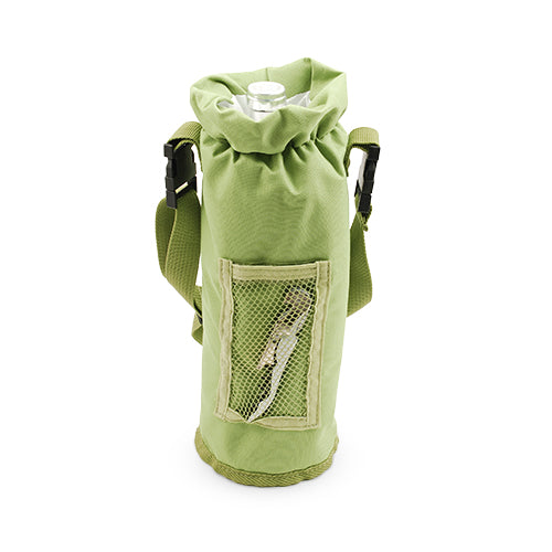 Grab & Go Insulated Bottle Carrier: Green