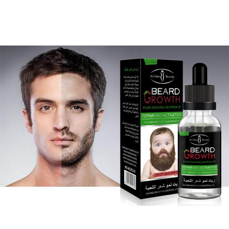 100% Natural Beard Growth Oil