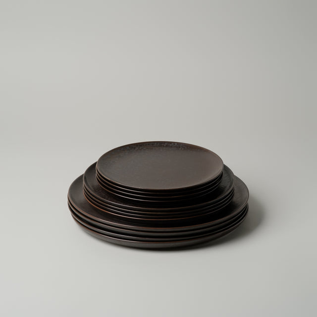 New Norm plates dark glazed