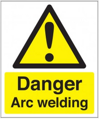 Danger Arc Welding signs SSW0233