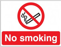 No Smoking Photoluminescent Signs SSW0118