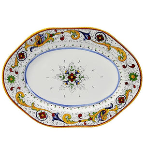 RAFFAELLESCO: Hexagonal Lg Serving Platter