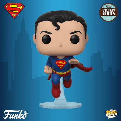 FUNKO POP! Pop! Heroes: Superman - Flying Superman (80th Anniversary) (SPECIALITY SERIES)