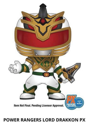 FUNKO POP! TV: POWER RANGERS - LORD DRAKKON PX