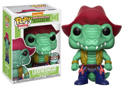 FUNKO POP! TV: TMNT: S2 - LEATHERHEAD SPECIALTY SERIES EXC.