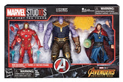 MARVEL LEGENDS: MCU 10TH ANNIVERSARY 3 PACK - THANOS, IRON-MAN, & DR. STRANGE