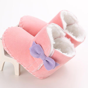 Baby Girl Warm Soft Booties
