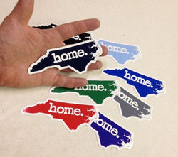 HOME NC North Carolina State | Window | Car | Decal | Sticker | Vinyl (multiple Colors)