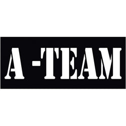 A-TEAM Helmet Firefighter | Decal | Sticker | Vinyl
