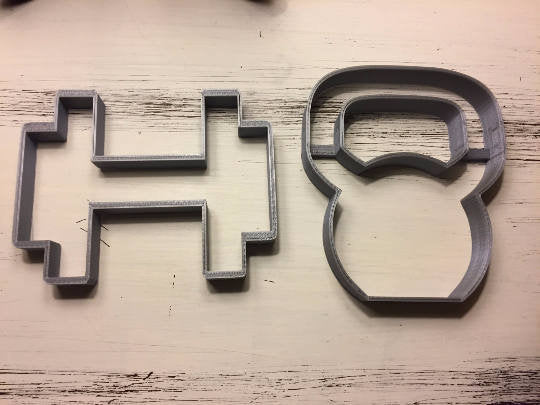 Crossfit Kettle-bell & Dumbbell Cookie Cutters Fitness
