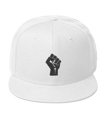 White/Black Resist Snapback