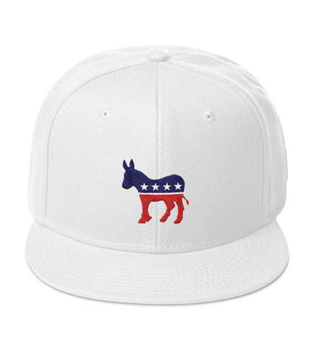 Democratic Donkey Snapback Hat