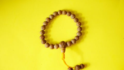 Bodhi Seed Adjustable Wrist Mala.