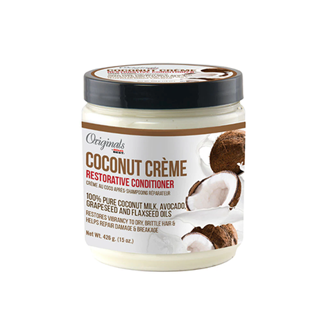 African Best - Coconut Creme Restorative Conditioner - 15oz